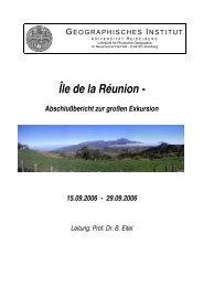 Île de la Réunion - - Geographisches Institut Uni Heidelberg ...