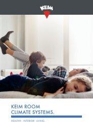 KEIM Room climate system