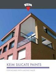 KEIM Silicate paints