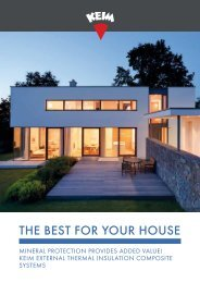 KEIM ETICS - The best for your house