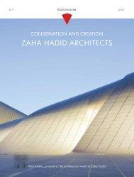 KEIM Edition No.1: Zaha Hadid Architects