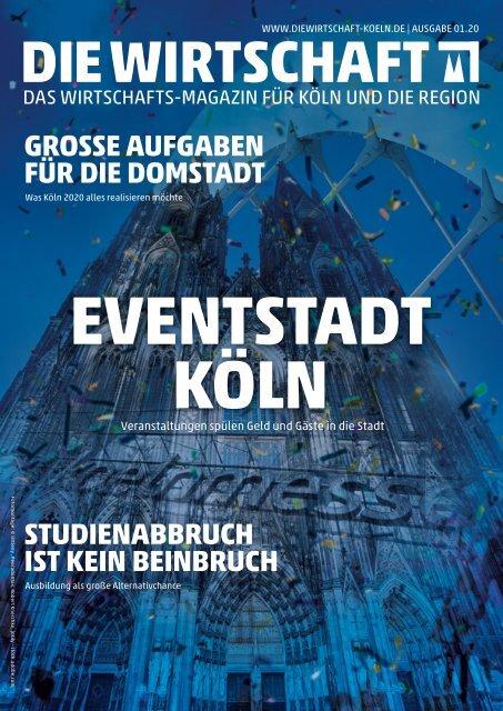 Die Wirtschaft Köln Ausgabe 01 / 2020