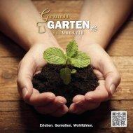 GenussGARTEN Magazin - INTERNORGA 2020