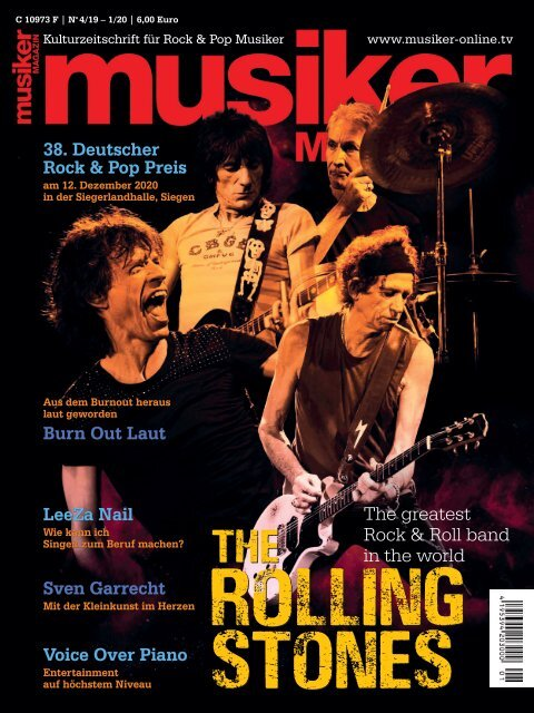 Musiker Magazin 4/2019 – 1/2020