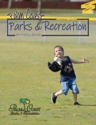 Palm Coast Parks & Recreation Activity Guide Summer 2020