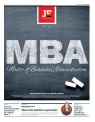 MBA | Master of Business Administration: Programas Mais Internacionais