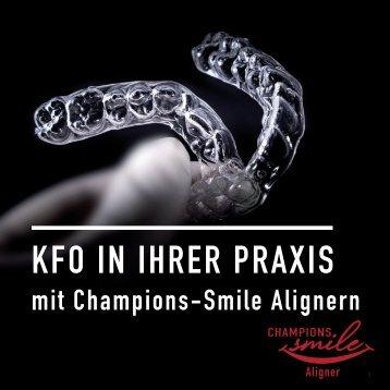 KFO in Ihrer Praxis mit Champions-Smile Alignern