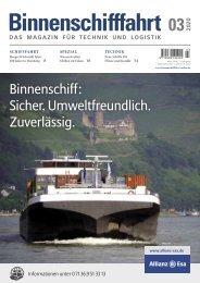 Binnenschifffahrt  März 2020 – Online-Vorschau