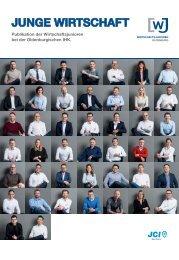 Junge Wirtschaft - Publikation der Wirtschaftsjunioren bei der Oldenburgischen IHK