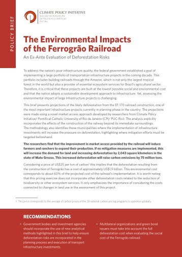 PB_The Environmental Impacts of the Ferrograo Railroad