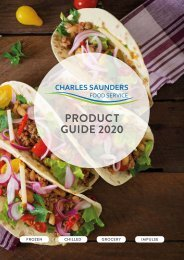 Charles Saunders Product Guide SS2020