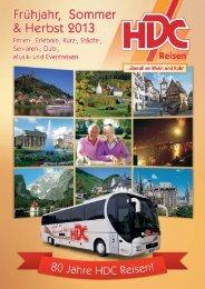 gut gelaunt auf Tour - HDC-Reisen