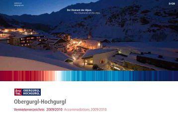 Obergurgl-Hochgurgl - Sölden