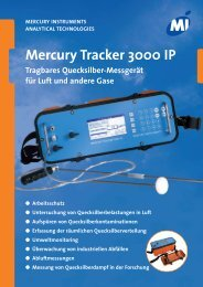 Mercury Tracker 3000 IP - Mercury Instruments GmbH.