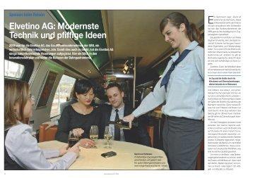 Speisen beim Reisen Elvetino AG - Hotel & Gastro Union