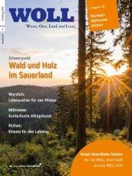 WOLL Magazin Warstein Möhnese Rüthen Frühling 2020