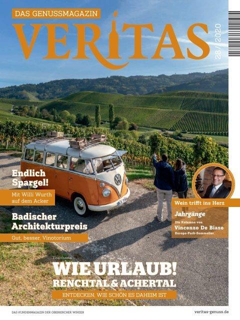 VERITAS - Das Genussmagazin - Ausgabe 28/2020