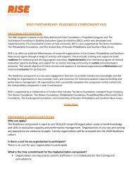 Download the RISE Partnership Implementation Frequently Asked Questions