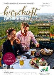 Magazin harzhaft GENIESSEN_2020_Fruehling_Sommer_web