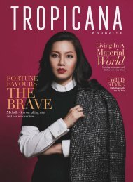 Tropicana Sep-Oct 2017 #115 Fortune Favours the Brave