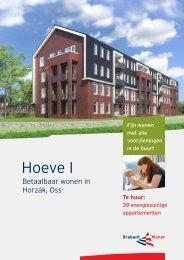 Verhuurbrochure Horzak Hoeve 1 appartementen