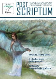 POST SCRIPTUM - LIPIEC 2019