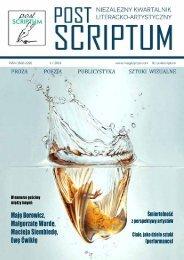 POST SCRIPTUM - PAZDZ 2019