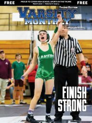 March 2020 Issue of Varsity Monthly Thumb Magazine