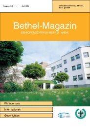 Aus dem Leben eines Staphylokokkus - Diakoniewerk Bethel ...