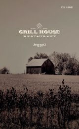 Grill House 1.4-1.10.2020. Silja Serenade and Silja Symphony FIN/SWE