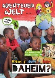 AbenteuerWelt // Kinderheft der DMG // Nr. 183