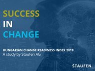 Study Success in Change - Hungary