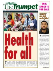 The Trumpet Newspaper Issue 511 (January 29 - February 11 2020)