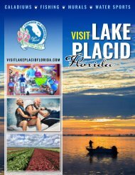 2020 Lake Placid, Florida Visitors Guide