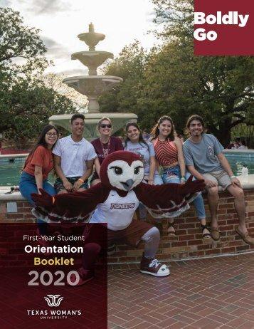 TWU Orientation Handbook 2020