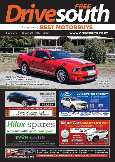 Best Motorbuys: March 20, 2020