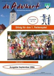 GEMEINdE - Marktgemeinde Allhartsberg