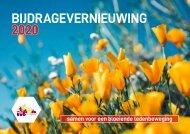 Bijdragevernieuwing kwb 2020