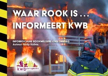 Infobrochure rookmelders kwb Limburg