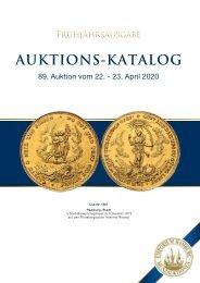 89. Auktion - Münzen & Medaillen - Emporium Hamburg