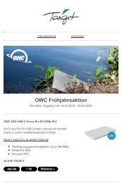 OWC Frühjahrsaktion