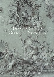 XIV - Genoese Drawings - Marty de Cambiaire