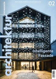 architektur Fachmagazin Ausgabe 2/2020
