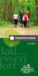 Juli 2012 - Tagungs- und Kongresszentrum Bad Sassendorf