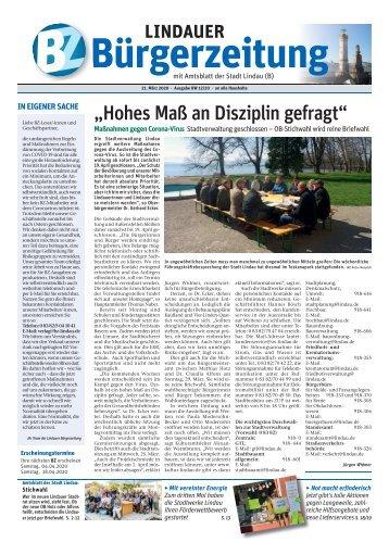 21.03.2020 Lindauer Bürgerzeitung