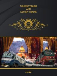 Tourist Trains and Luxury Trains