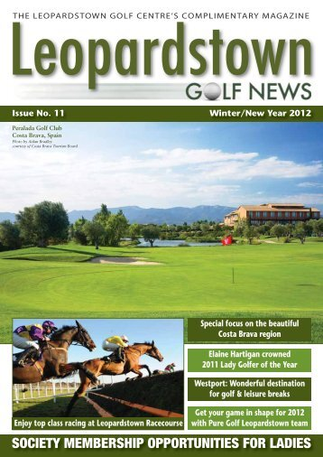 THE LEOPARDSTOWN GOLF CENTRE'S ... - Backspin Golf Magazine