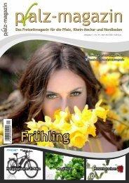 Frühlingsausgabe Pfalz-Magazin Apr-Mai 2020