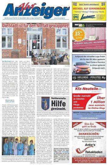Ihr Anzeiger Bad Bramstedt 12 2020