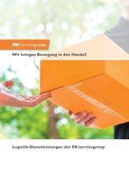 Logistik Dienstleistungen der EK servicegroup